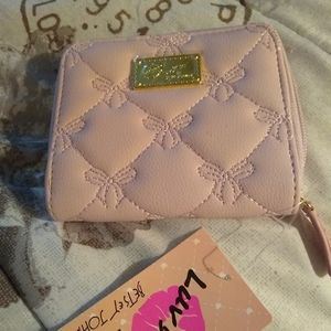 Authentic Betsey Johnson small wallet